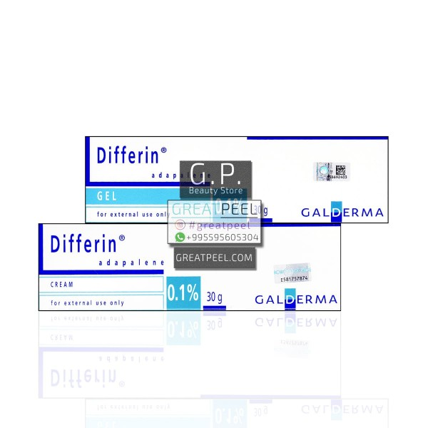 DIFFERIN ADAPALENE 0.1% CREAM / GEL | 30g/1.06oz