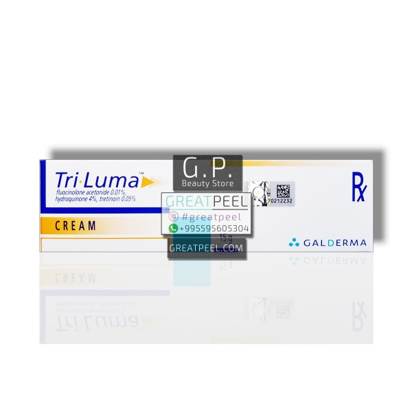TRI LUMA 4% HYDROQUINONE + 0.05%  TRETINOIN CREAM / MADE USA | 15g/0.53oz