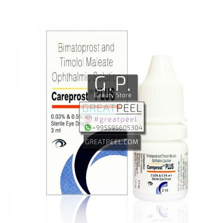 CAREPROST PLUS 0.03% / 0.5% SOLUTION | 3ml/0.10 fl oz